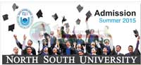 North South University Summer admission 2015