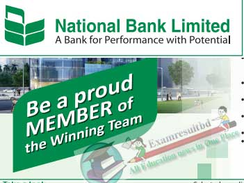 National Bank Job Circular