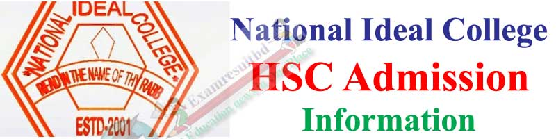 National Ideal College HSC Admission Circular