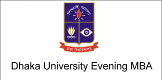 Dhaka University Evening MBA Admission