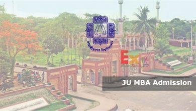 JU MBA Admission