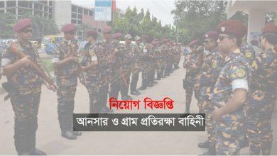 Bangladesh Ansar Job Circular