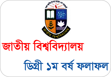 National University Degree 1st Year Result