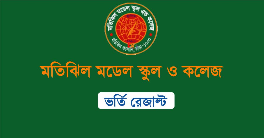 Motijheel Model College Admission Result