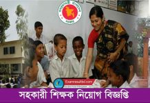 Primary School Teacher Bangladesh