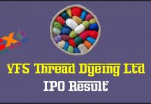 VFS Thread Dyeing IPO Result