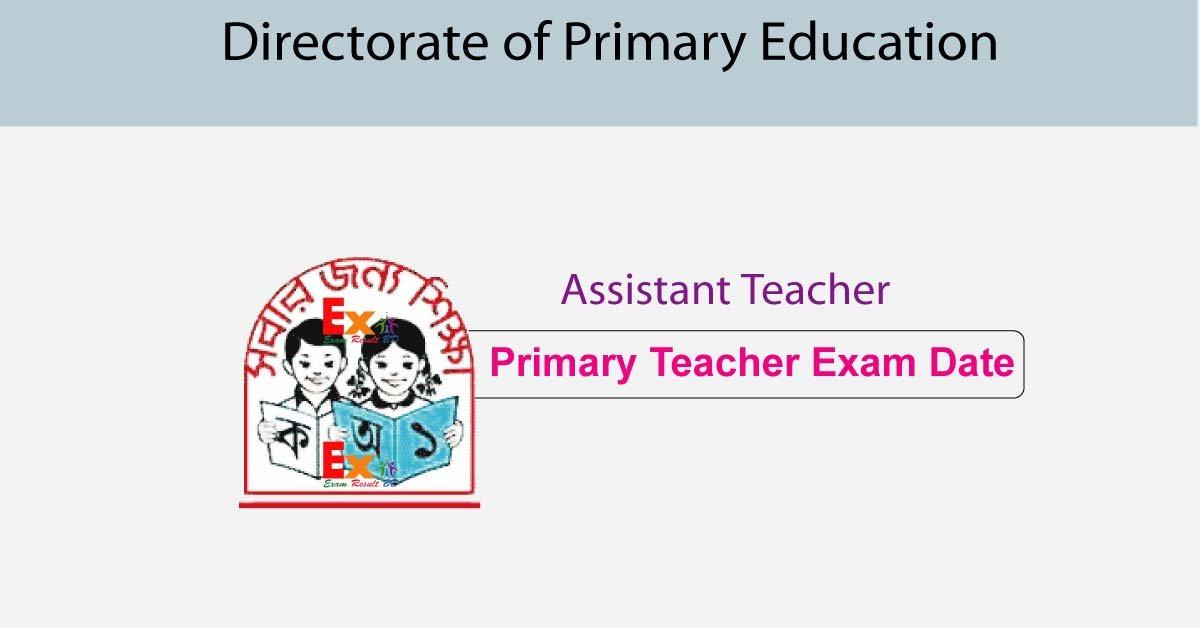 Primary School Teacher Admit Card