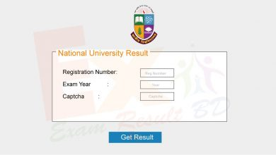 National University Result