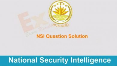 NSI Question Solution
