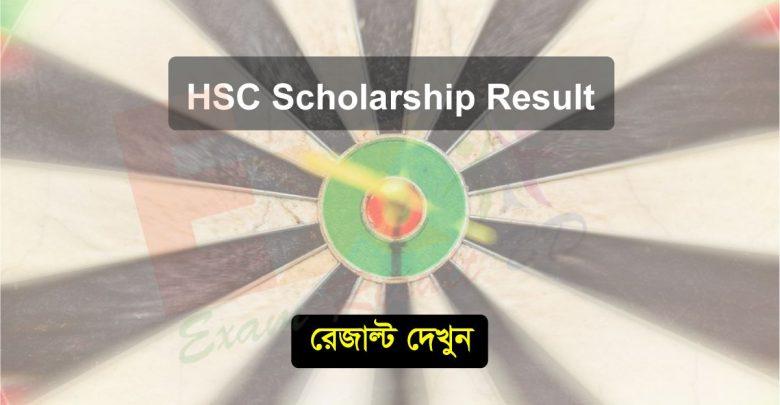 HSC Scholarship Result 2019