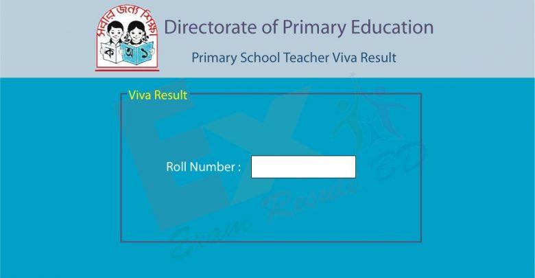 Primary School Teacher Viva Result