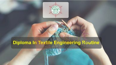 Diploma Textile Engineering Routine