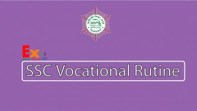 SSC Vocational Routine